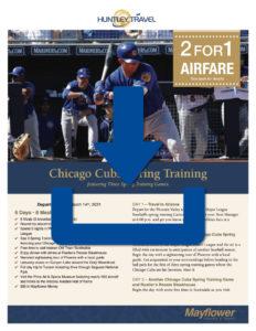Cubs Spring Training Brochure